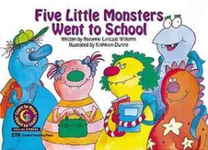 Five Little Monsters Went to School