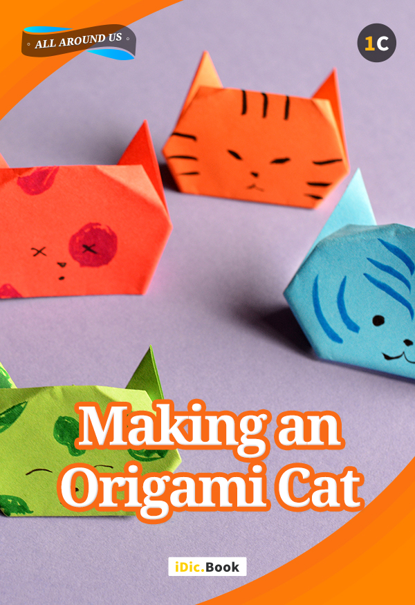 Making an Origami Cat