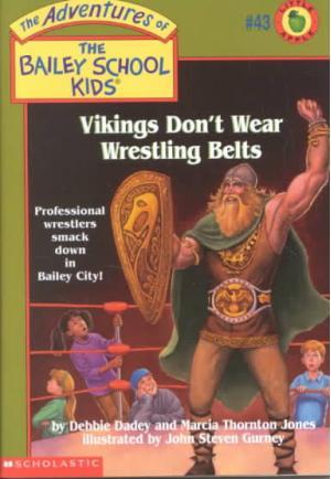 Vikings Don\'t Wear Wrestling Belts