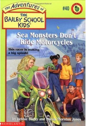 Sea Monsters Don\'t Ride Motorcycles