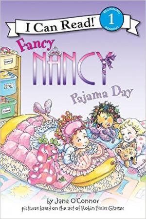 Fancy Nancy Pajama Day