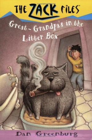 Great-Grandpa\'s in the Litter Box