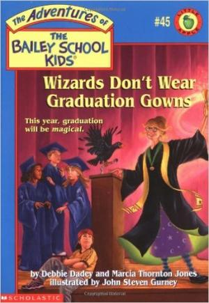 Wizards Don\'t Wear Graduation Gowns