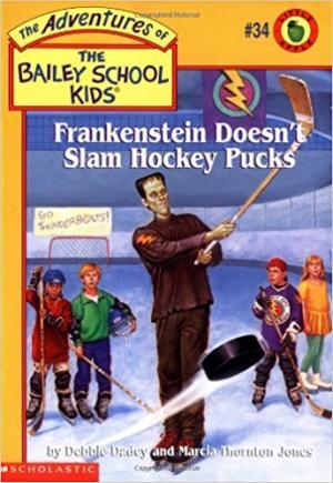 Frankenstein Doesn\'t Slam Hockey Pucks