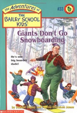 Giants Don\'t Go Snowboarding