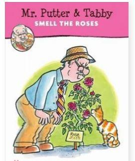 Mr.Putter and Tabby Smell the Roses