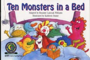 Ten Monsters In a Bed