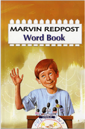 Marvin Redpost Word Book